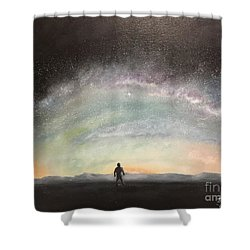 Glory Of God Shower Curtain