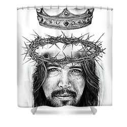 Glory To The King Shower Curtain