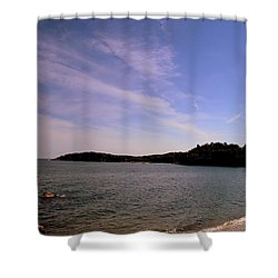 Gloucester Beach Shower Curtain