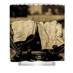 Gloves Shower Curtain