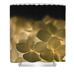 Glow Blossoms Shower Curtain