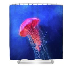 Shower Curtain featuring the photograph Glow by Joel Witmeyer