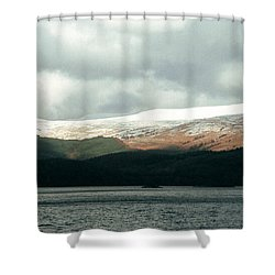 Glowering Shower Curtain