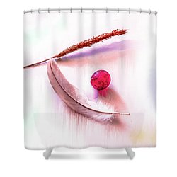 Glowing Grape #g5 Shower Curtain