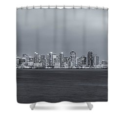Glowing In The Night Shower Curtain by Joseph S Giacalone