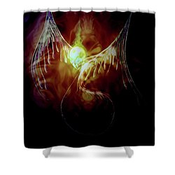 Glowingpixie Shower Curtain