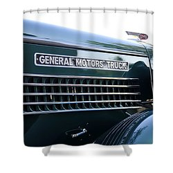 Gmc Hood Shower Curtain by David Lee Thompson