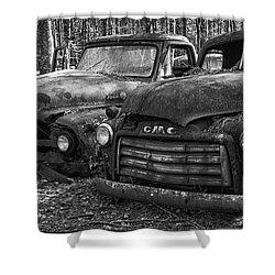 Gmc Truck Shower Curtain