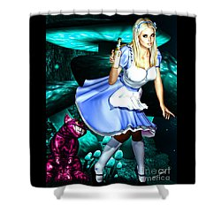 Go Ask Alice Shower Curtain