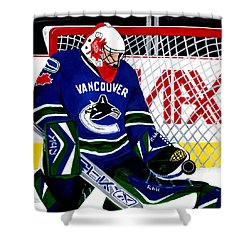 Go Canucks Go Shower Curtain
