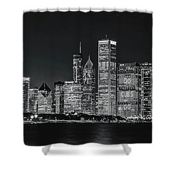 Go Cubs Go Chicago Shower Curtain