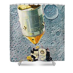 Go For Landing Shower Curtain by Douglas Castleman