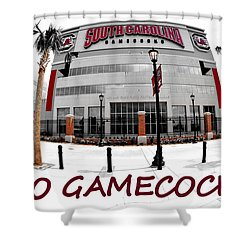 Go Gamecocks Shower Curtain