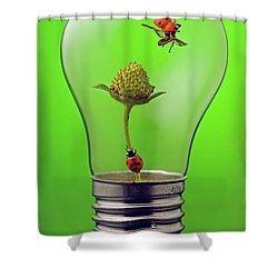 Go Green Shower Curtain