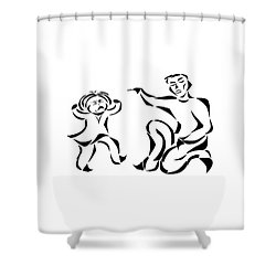 Go To Bed Shower Curtain