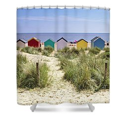 Go To The Seaside Shower Curtain