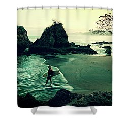 Go Your Own Way Shower Curtain