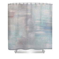 Gobi Desert Gale And Oasis Shower Curtain