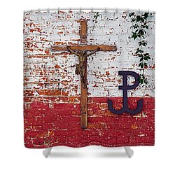 God, Honour, Fatherland Shower Curtain