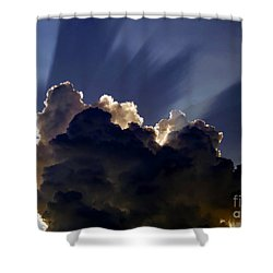 God Speaking Shower Curtain by David Lee Thompson
