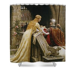 God Speed Shower Curtain by Edmund Blair Leighton