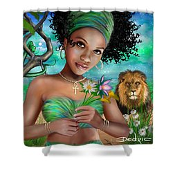 Goddess Bastet Shower Curtain