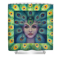 Goddess Isis Visions Shower Curtain