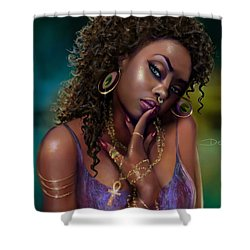 Goddess Kali Shower Curtain