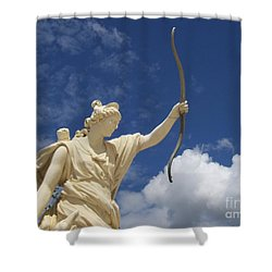 Goddess Shower Curtain by Mary Mikawoz