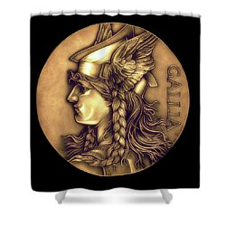 Goddess Of Gaul Shower Curtain by Fred Larucci