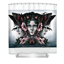 Goddess Of Magic Shower Curtain