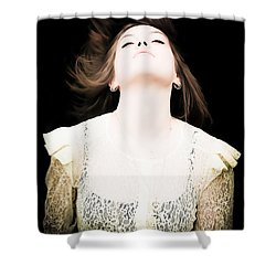 Goddess Of The Moon Shower Curtain by Loriental Photography
