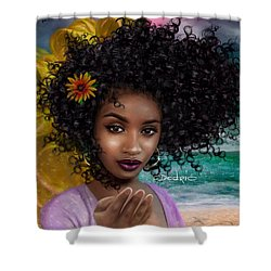 Goddess Oshun Shower Curtain
