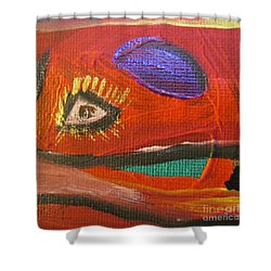 Godhi - Yawbeko - Bonthe District  Shower Curtain