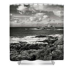 Godrevy Lighthouse 1 Shower Curtain