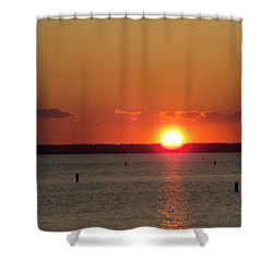 God's Eye Shower Curtain