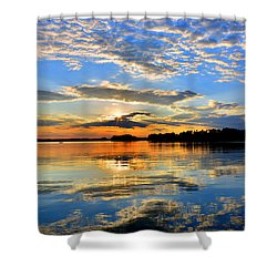 God's Glory Shower Curtain