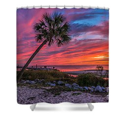 God's Grand Finale Shower Curtain