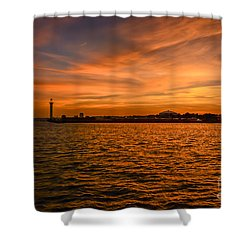 God's Grand Show Shower Curtain by Brian Wright