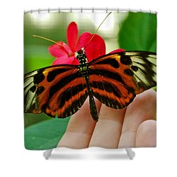Shower Curtain featuring the photograph God's Handiwork by Debbie Karnes