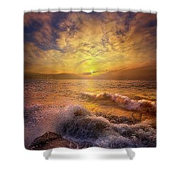 Shower Curtain featuring the photograph Gods Natural Cure by Phil Koch