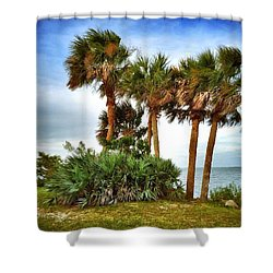 God's Nest Shower Curtain