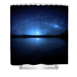 Gods Of Nature Shower Curtain by Mark Andrew Thomas