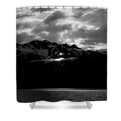 God's Spotlight Shower Curtain