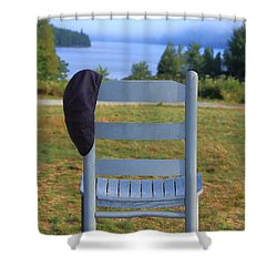 God's Waiting Room Shower Curtain