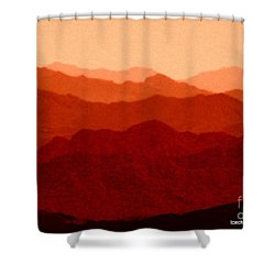 Goes On And On Shower Curtain