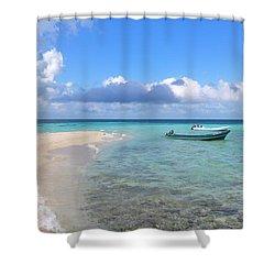 Goff's Caye Island Shower Curtain