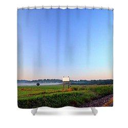 Goin' Somewhere Shower Curtain