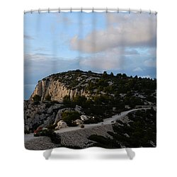 Going Back Shower Curtain
