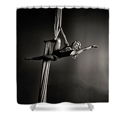 Going Big Shower Curtain
